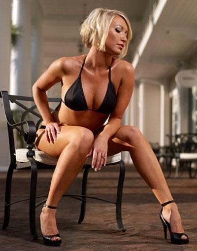 Wife dressed as stripper